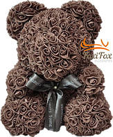 Мишка из роз UFT Bear Flowers UFT BB4 Coffee