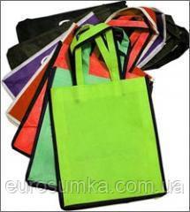 Промо сумки з спанбонду з логотипом