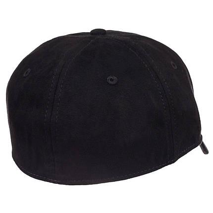 Бейсболка фулка велюр черная, фото 2