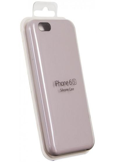 Чехол для Apple Silicone Case iPhone 6/6s lilac cream
