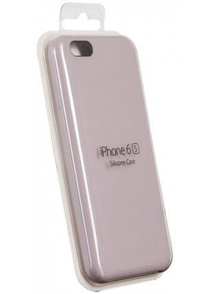Чехол для Apple Silicone Case iPhone 6/6s lilac cream, фото 2