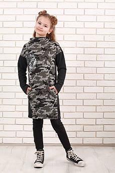 Платье детское ТМ Татьяна Филатова модель 161 милитари