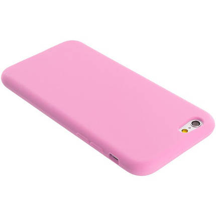 Чехол для Apple Silicone Case (06) iPhone 6 light pink, фото 2