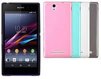 Силиконовый чехол для Sony Xperia C3 Dual D2502 D2533
