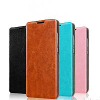 Кожаный чехол книжка Mofi для Samsung Galaxy A50 (4 цвета)