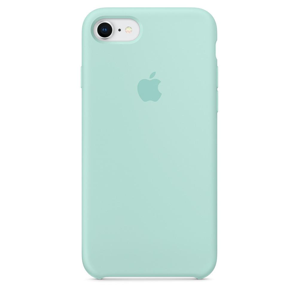 Чехол для Apple Silicone Case iPhone 6/6s light blue