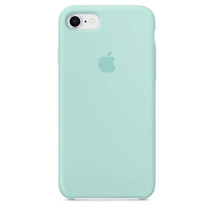 Чехол для Apple Silicone Case iPhone 6/6s light blue, фото 2