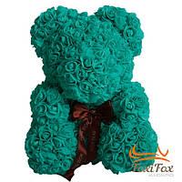 Мишка из роз UFT Bear Flowers UFT BB3 Turquoise