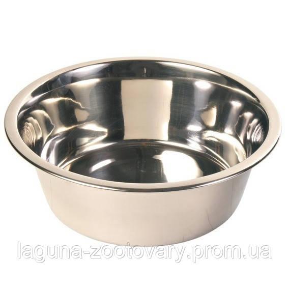 Миска 0.45 литра  для собак и кошек/нерж.
