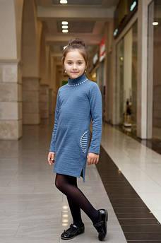 Платье детское ТМ Татьяна Филатова модель 131 синий