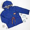 Куртка парку малюк на синтепоні, розмір 92-116, електрик