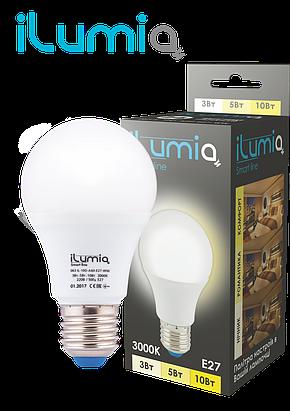 Светодиодная лампа с регулировкой яркости и мощности освещения 3-5-10W iLumia, фото 2