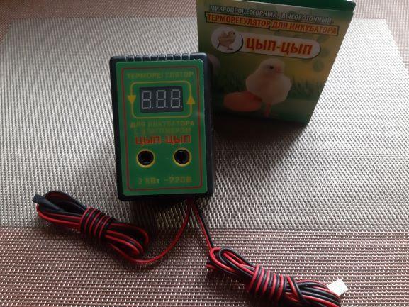 Терморегулятор для инкубатора цифровой с влагомером