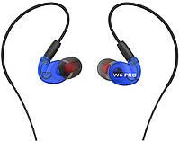 Наушники QKZ W6 pro Blue (32-ОW6)