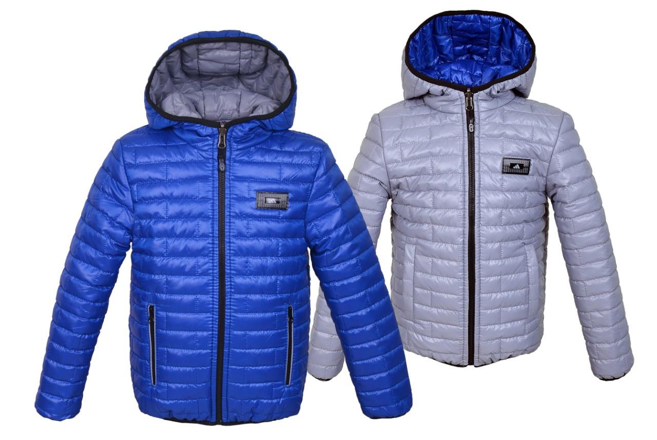 Детская двухсторонняя куртка  для мальчика