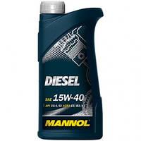 Моторное масло Mannol Diesel Turbo 15W40 1L