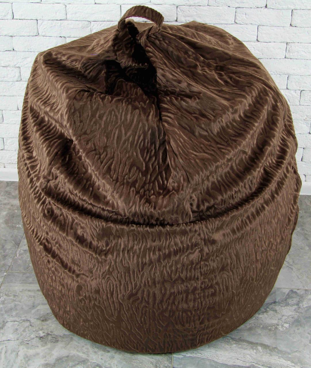 Бескаркасное Кресло мешок груша XXL 130х160