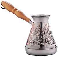 Медная турка для кофе  «Медная роза», 300мл. (449)
