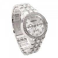 Женские часы Geneva 1320 Silver