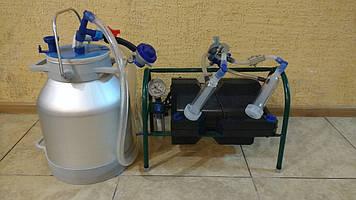 Доїльний апарат імпульс пбк-4 для кіз з алюмін. профілю. відром