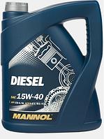 Моторное масло Mannol Diesel Turbo 15W40 5L