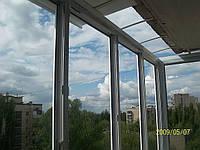 Изготовление крыши на балконе Киев
