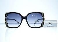 Оптом Очки женские Louis Vuitton солнцезащитные - Черные - 8330, фото 1