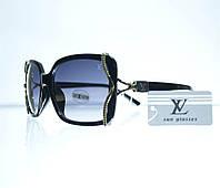 Очки женские Louis Vuitton солнцезащитные - Черные - 8330, фото 1