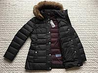 Женские кожаные пуховики в Украине. Сравнить цены bc27548ce7991