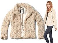 Куртка из искусственного меха ABERCROMBIE Hollister США, M