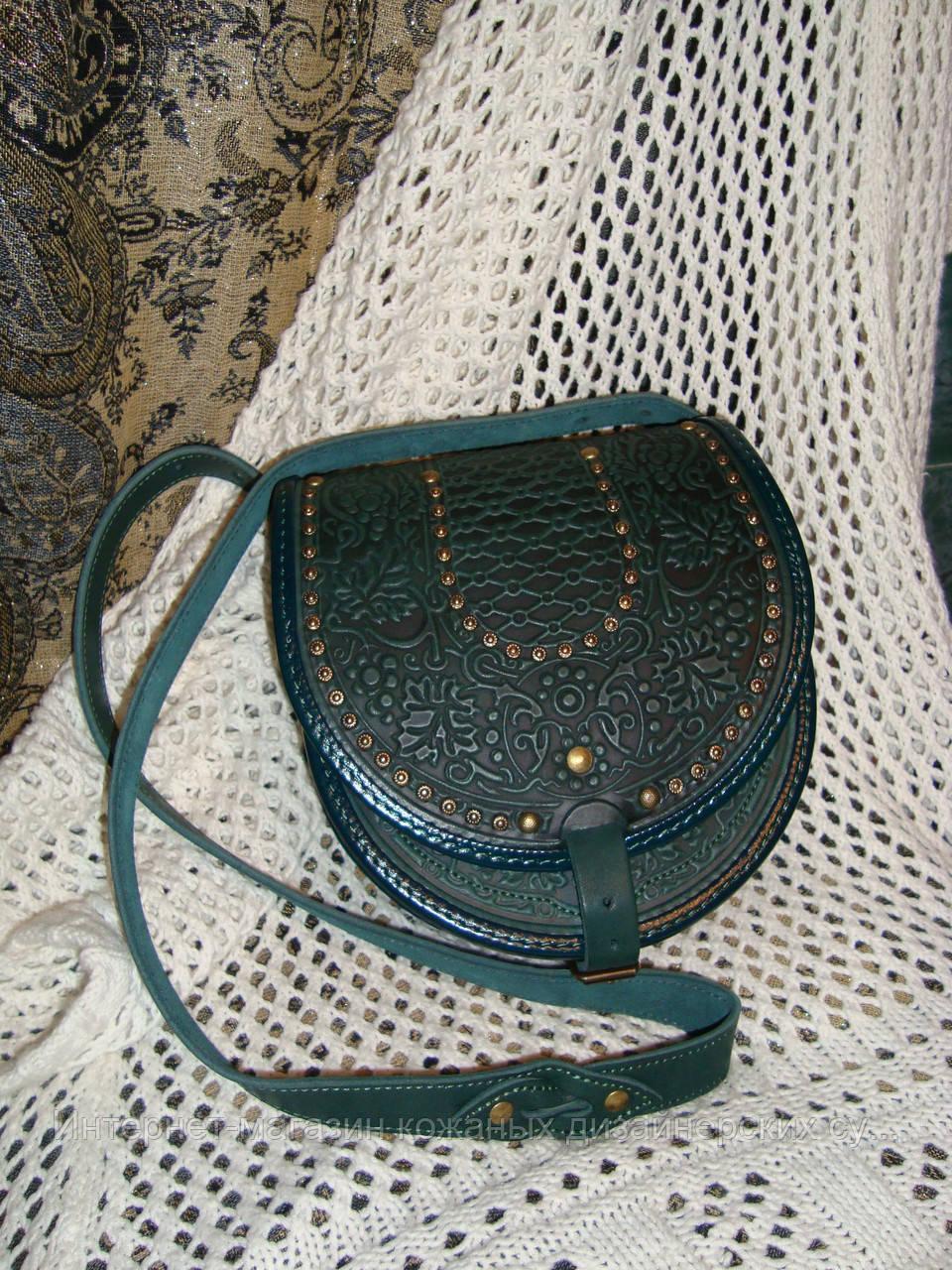 8ab529f135bf Кожаная сумка ручной работы