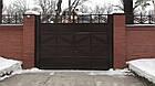 Ворота кованые жатые, фото 2