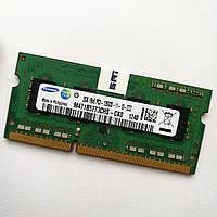 Оперативная память для ноутбука Samsung SODIMM DDR3 2Gb 1600MHz 12800s CL11 (M471B5773CHS-CK0) Б/У