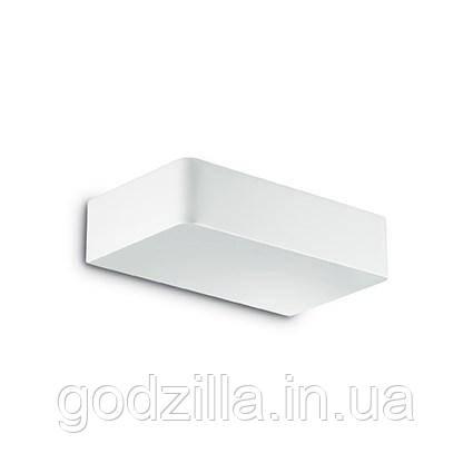 Настенный светильник Ideal Lux BRICK белый - куб