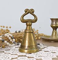 Старый колпачок, бронзовый гасник для тушения свечи, бронза, Европа, фото 1