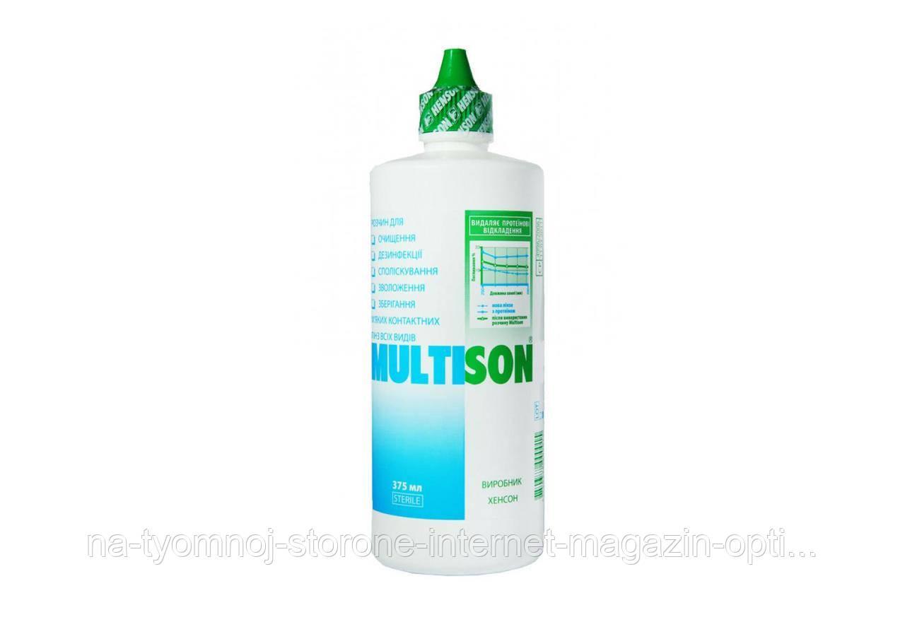 Раствор для контактных линз HENSON Multison 240 ml