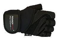 Перчатки для фитнеса PowerPlay 1063 E black мужские размер S