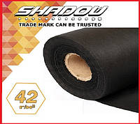 "Агроволокно  UF-4%  ""Shadow"" 42 г/м², 3,2 х 100 м. чёрное (Чехия), фото 1"
