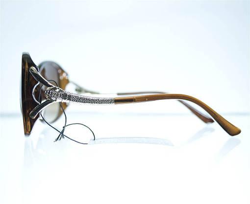 Оптом Очки женские Cartier солнцезащитные - Коричневые - 8328, фото 3