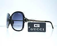 Оптом Очки женские Gucci солнцезащитные - Черные - 8191, фото 1