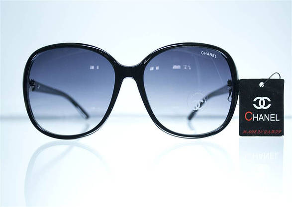 Оптом Очки женские солнцезащитные - Черные - 8280, фото 2