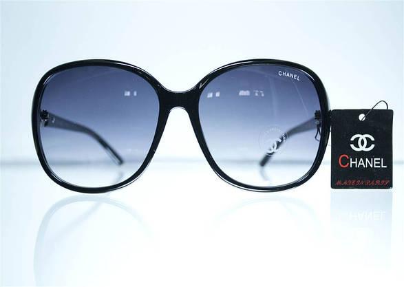 Оптом жіночі сонцезахисні Окуляри - Чорні - 8280, фото 2