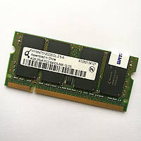 Оперативная память для ноутбука Qimonda SODIMM DDR2 4Gb 800MHz 6400s CL6 (HYS64T512022EDL-2.5-A) Б/У, фото 1