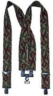 Подтяжки мужские камуфлтированные милитари Rothco Pants Suspenders Black