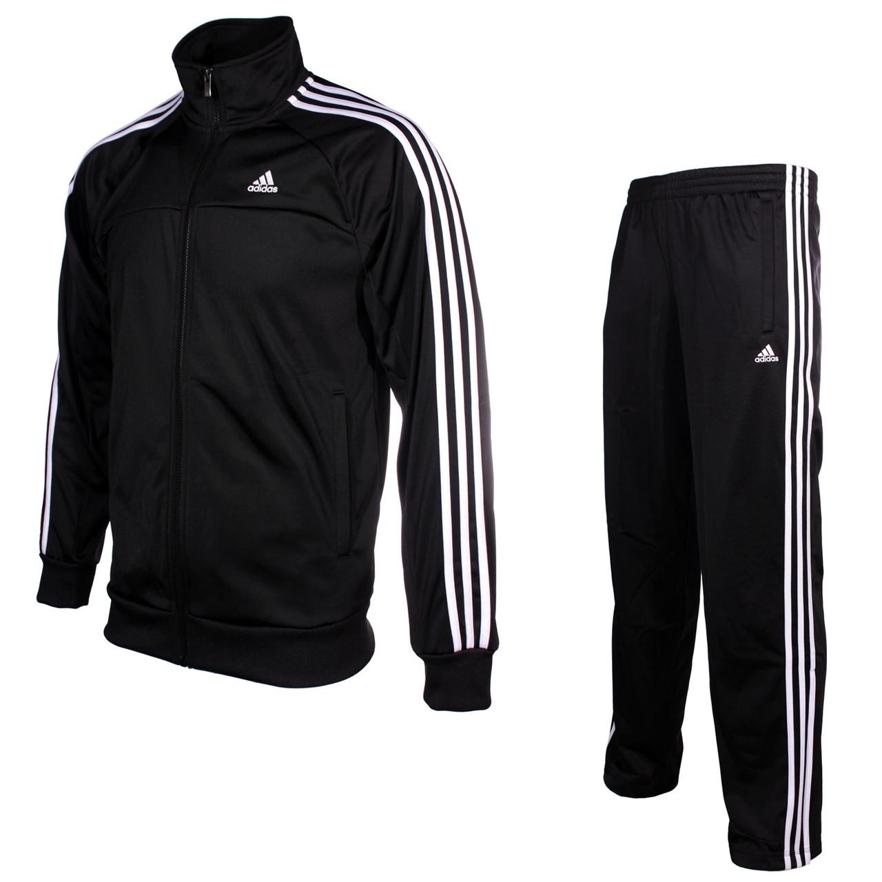 d55c843a60feb Костюм спортивный, мужской Adidas Essentials 3-Stripes Tracksuit Men X12408  адидас