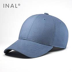 Кепка бейсболка INAL 6 панелей L / 57-58 RU Синий 116257