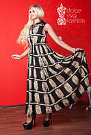 Женское длинное летнее платье, фото 1
