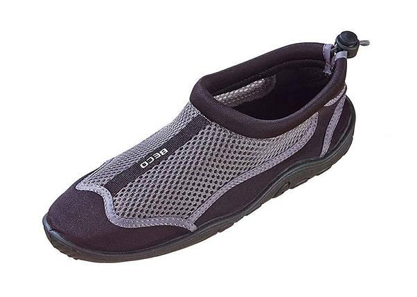 Аквашузы, обувь для серфинга и плавания BECO 90661 110, серебряно/черный, фото 2