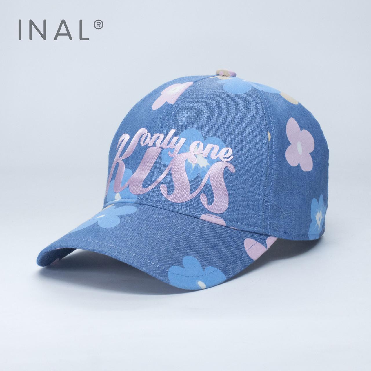 Кепка бейсболка INAL Kiss M / 55-56 RU Синий 172155