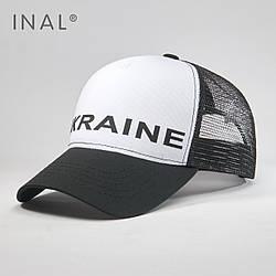 Кепка Тракер INAL Ukraine UA L / 57-58 RU Черный 72757